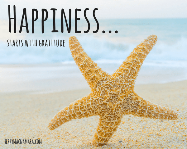 Thinking Thursday: Happiness & Gratitude, Like Peanut Butter & Jelly