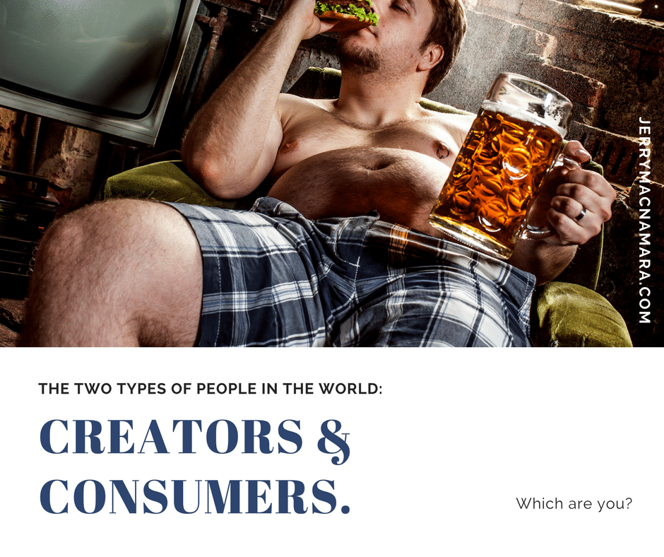 Thinking Thursday: Creators and Consumers