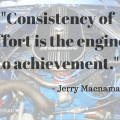 ThinkingThursday: Consistency of Effort